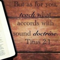 Image result for image for sound doctrine