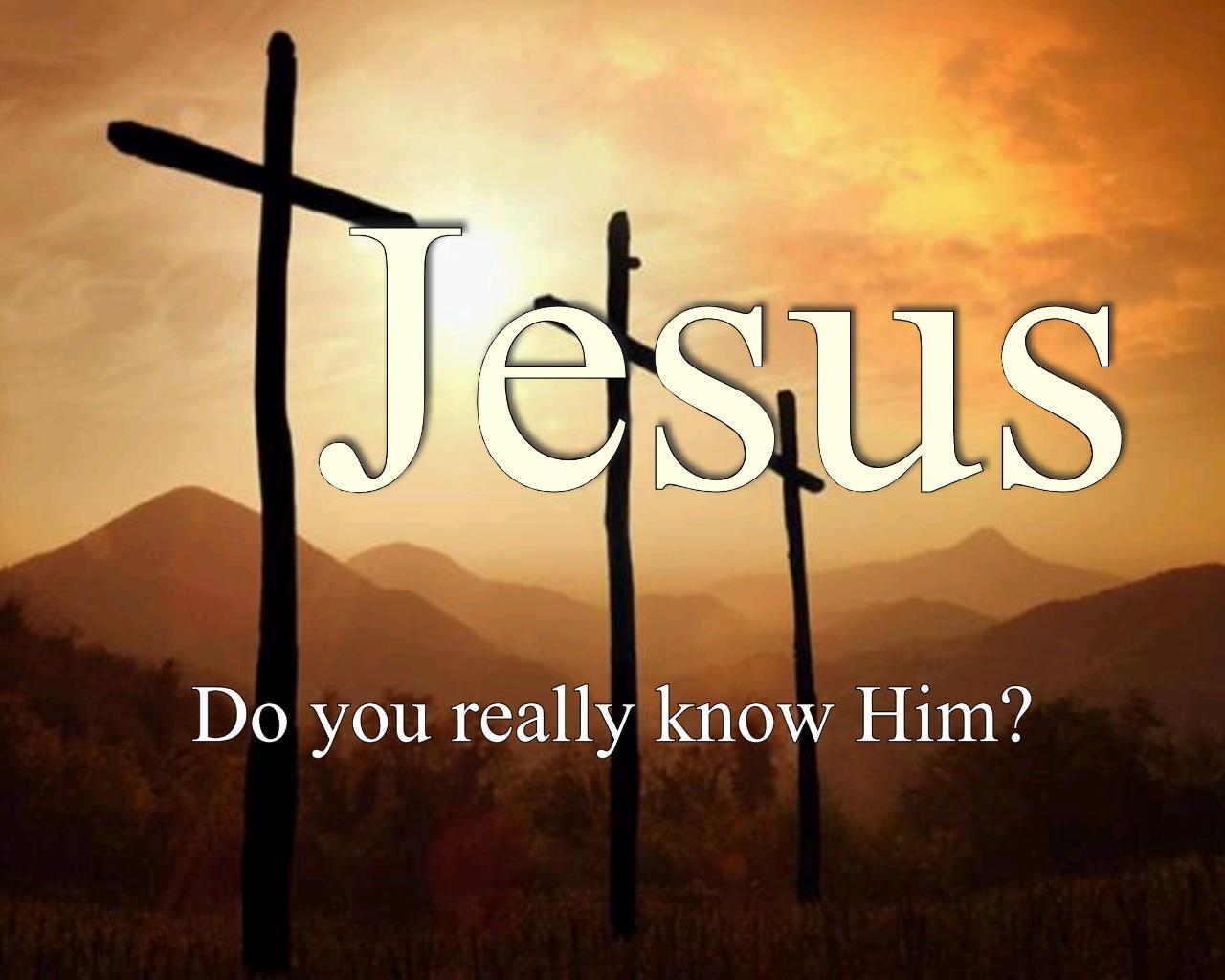 Get To Know Jesus