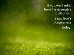 guilt & forgiveness