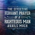 Fervent prayer James