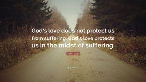 God's love & Suffering