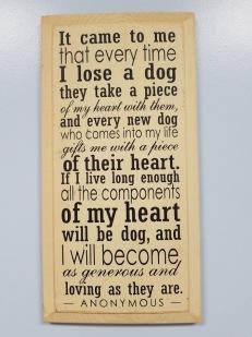Pets Plaque